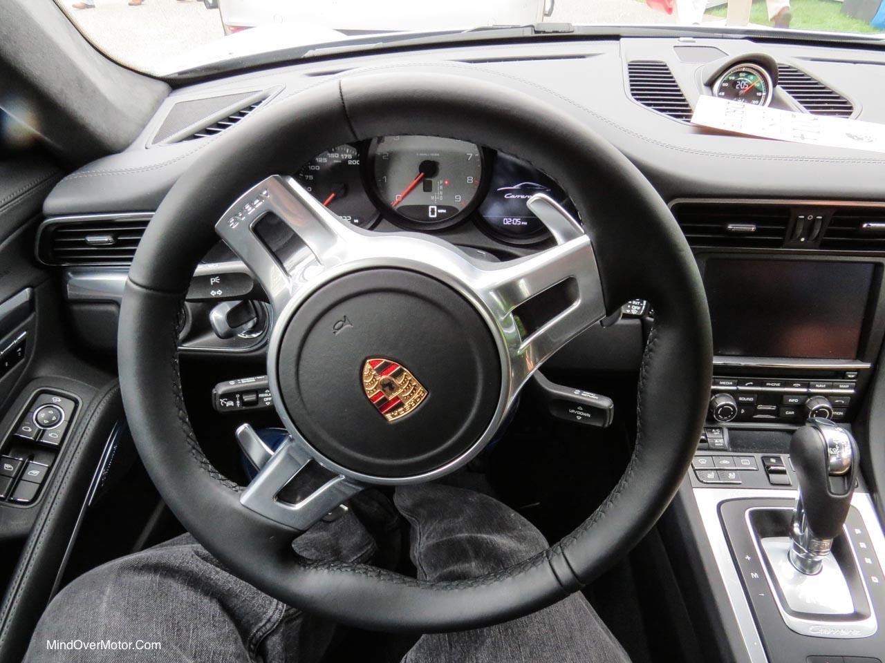 2014 Porsche 911 Carrera S Driver View