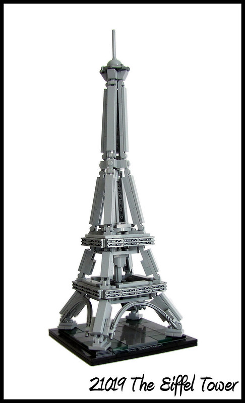 Review 21019 The Eiffel Tower Special Lego Themes Eurobricks Forums