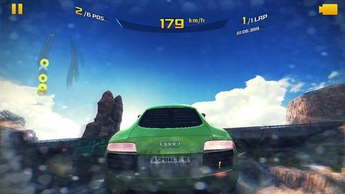 เกม Asphalt 8: Airborne บน Microsoft Surface 2