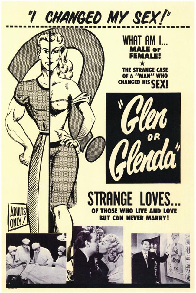 Glen or Glenda_poster