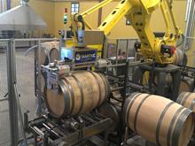 Robot para desinfectar barricas.