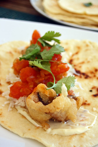 Tortillas maison aux beignets de maquereaux4