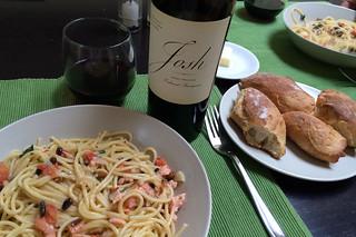 2012 Cabernet Sauvignon Josh Cellars - Pairing Smoked Salmon Pasta