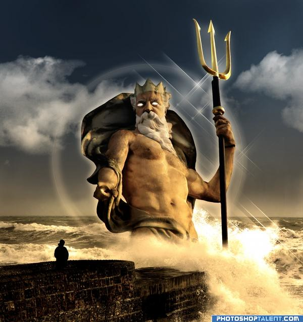Greek god of sea