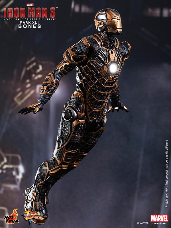 Hot Toys - Iron Man 3 - Bones (Mark XLI) Collectible Figure_PR3