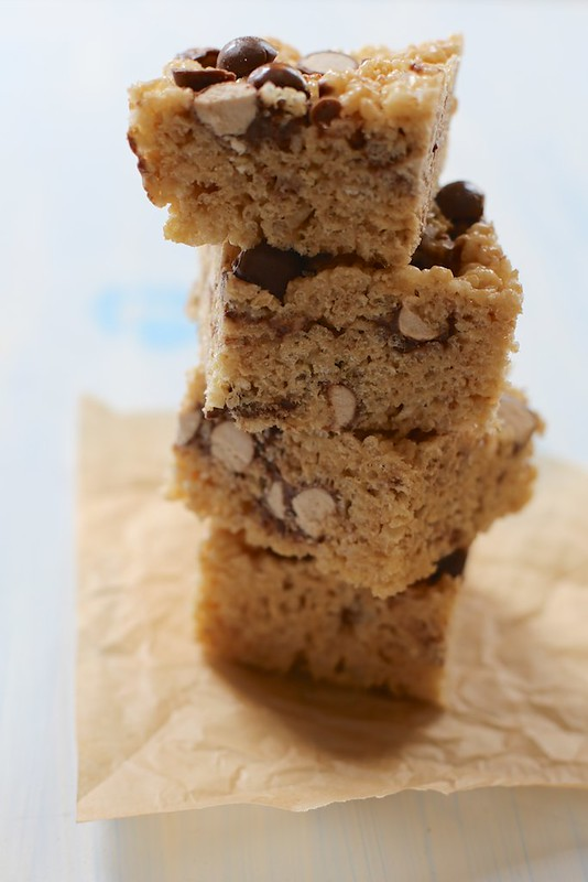 Salty and Malty Brown Butter Treats
