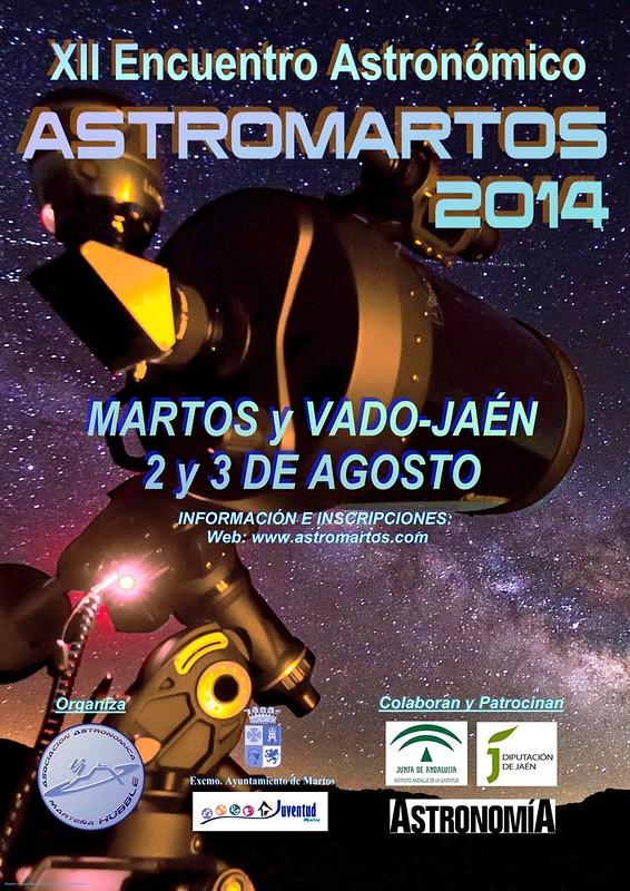 Cartel Astromartos2014