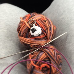 We have hit the road and I am ready to cast on. Florida here we come. #knitting #roadtrip