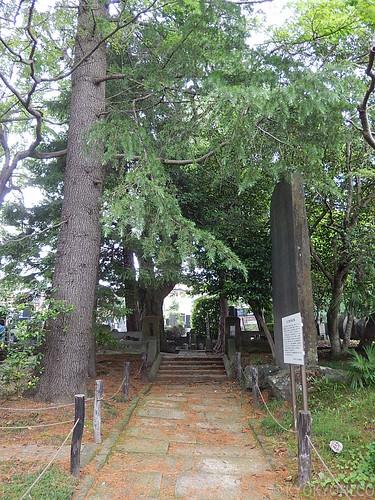光明寺支倉常長の墓
