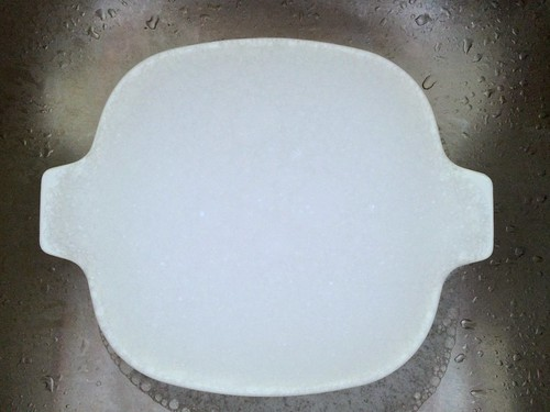 Soaking CorningWare Cookware