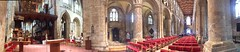 Inside Selby Abbey