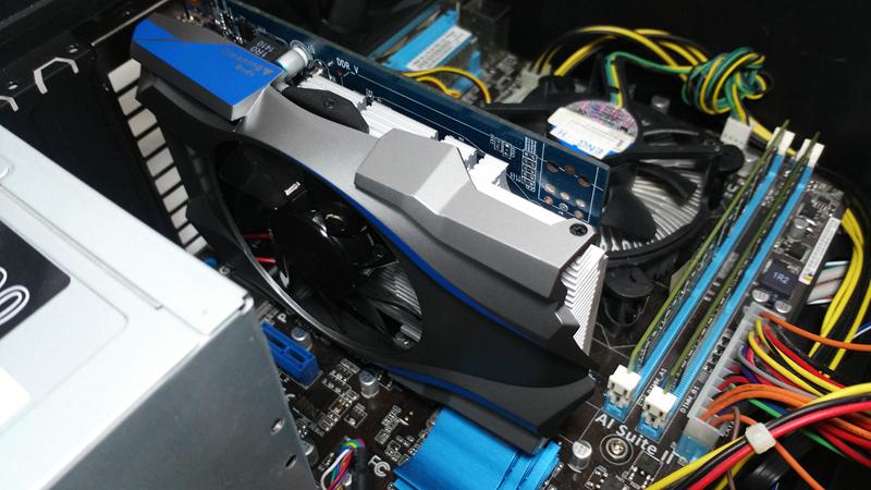 播4K、玩電動,免插電。短小精幹顯卡出頭天,Galaxy GT740 GC顯卡測試