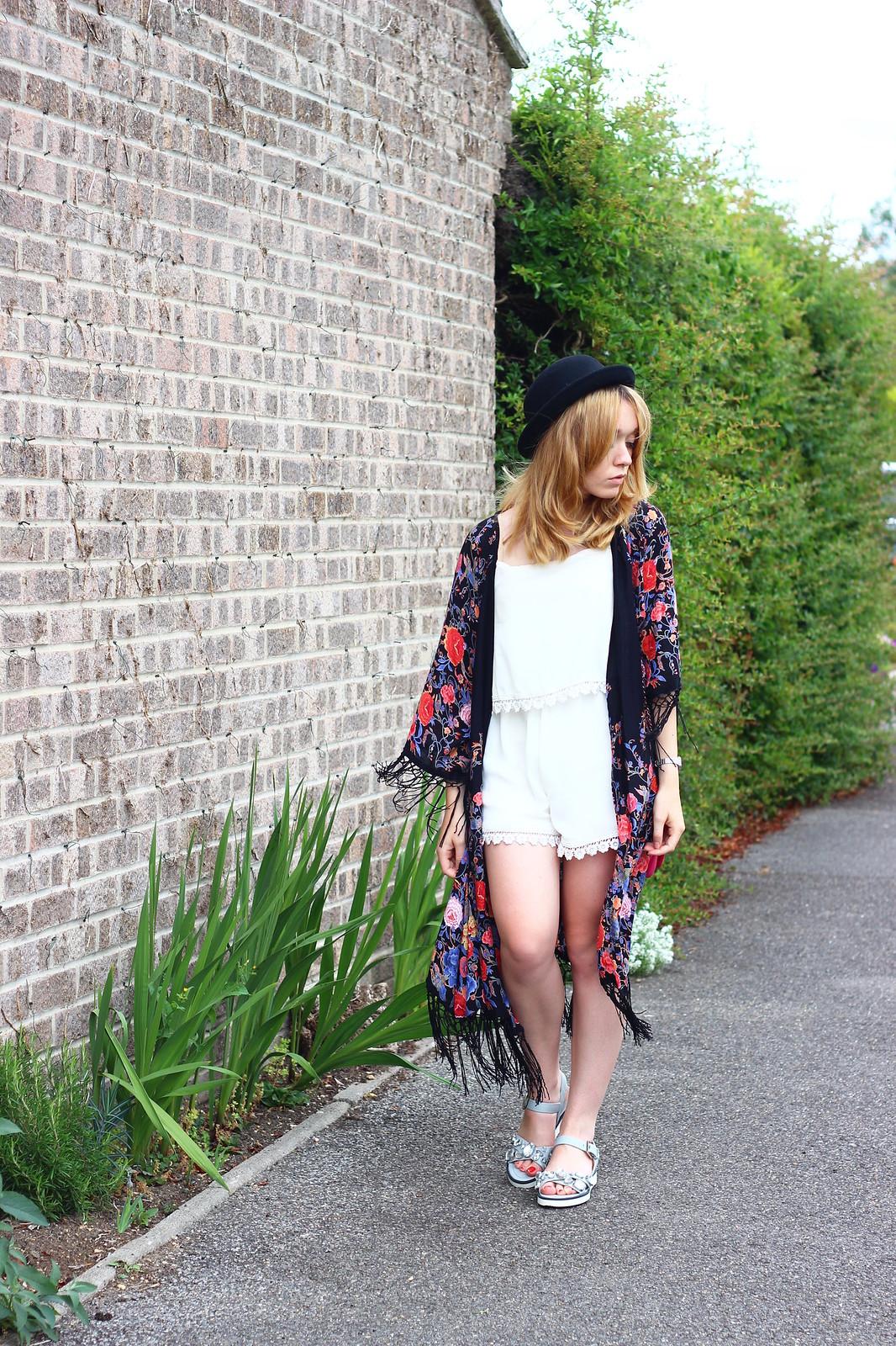 5primarkkimono, festival fashion, kimono, floral