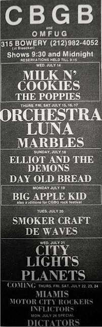 CBGB 07-14-76