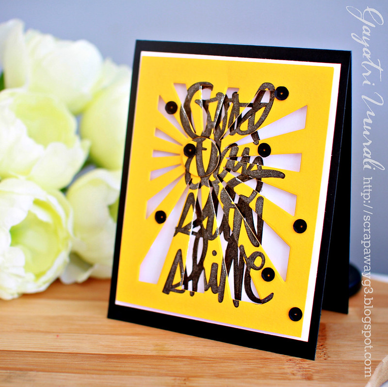 Good day Sunshine card