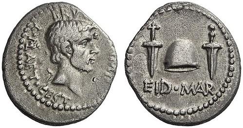 373 – M. Iunius Brutus, Denarius