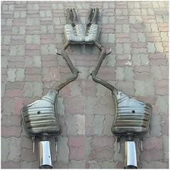 #For#Sale#OEM#Used#Parts#Mercedes#Benz#AMG#Sport#Exhaust#System#SClass#W221#alyehliparts#alyehli#UAE#AbuDhabi#AlFalah#City  Original AMG Sport Exhaust System MercedesBenz S Class W221  AMG SN0580 A221 491 19 00 ZEUNA STARKER 205 9211 001 07M06  AMG SN0580