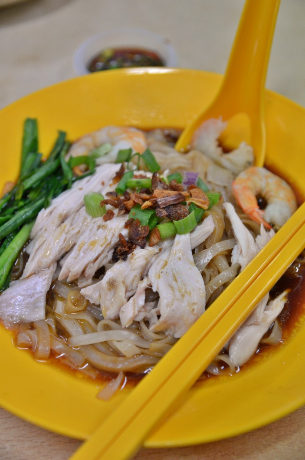 Dry Chicken Kuey Teow