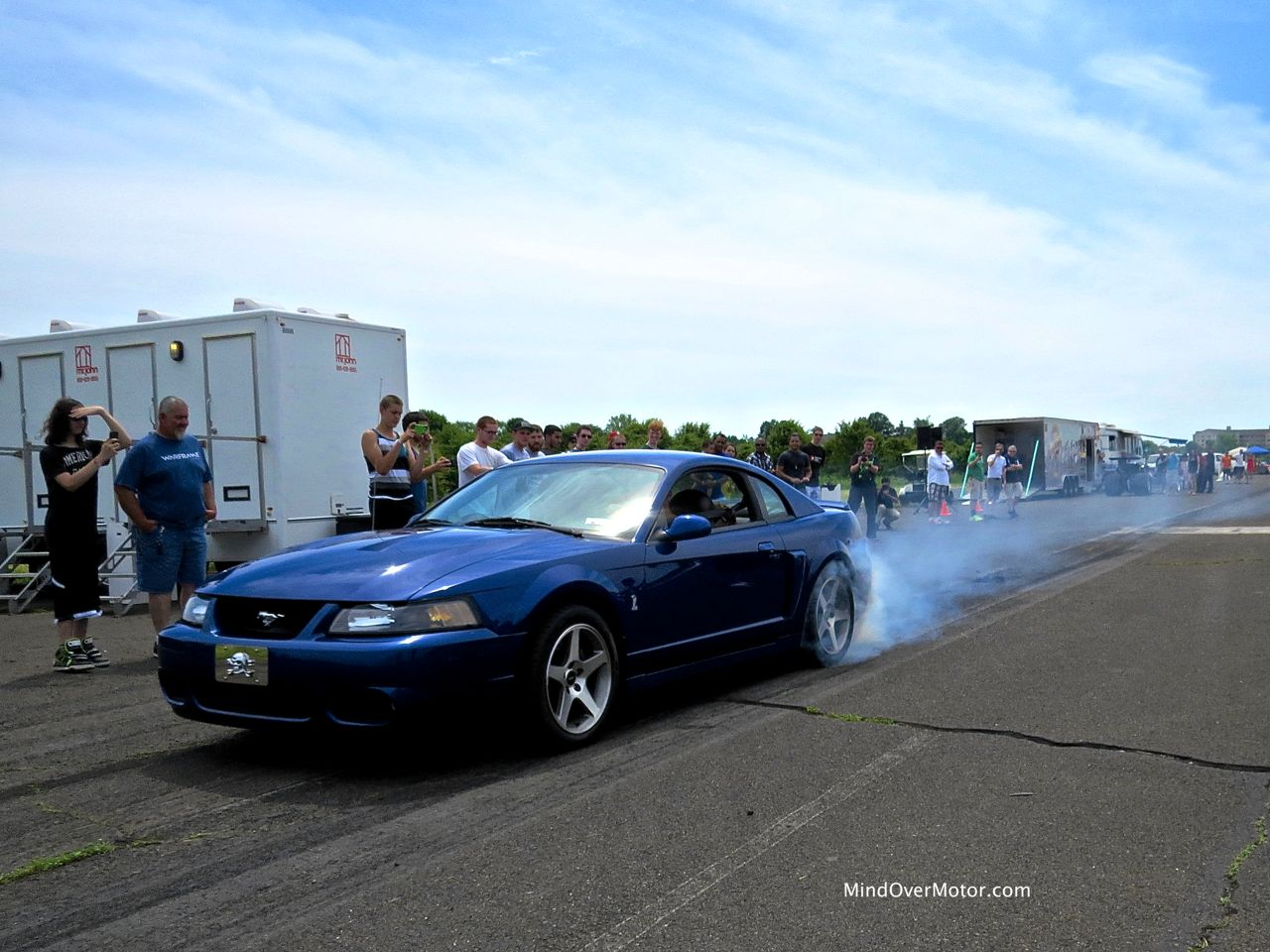Ford Musang SVT Cobra Burnout