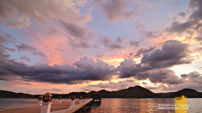 Sunset at El Rio y Mar Resort in Coron, Palawan