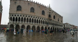 Image of Doge's Palace near Venice.