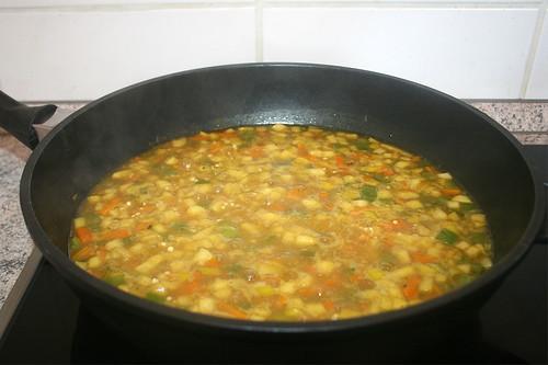 29 - Kurz aufkochen lassen / Bring to the boil