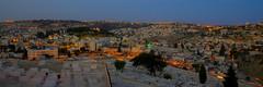 Lever de soleil sur Jérusalem Est
