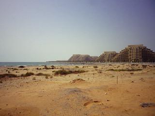 Image of Private Beach. unitedarabemirates rasalkhaimah