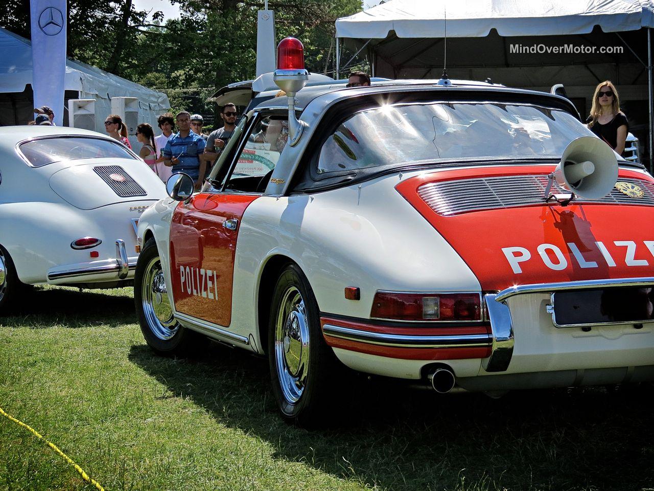 Porsche 911 Polizei at Greenwich 2014
