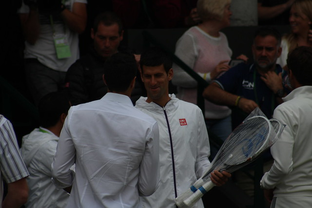 Here's Novak!