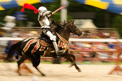 Joust to the Death- Opening day