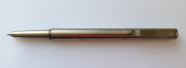 Review: @BIGiDESIGN Titanium Post Raw Pen + Stylus