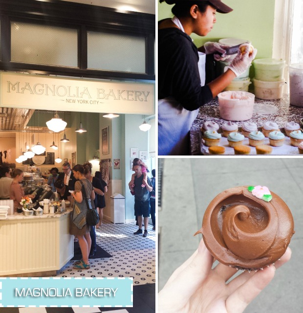 stylelab travel blog NYC food Magnolia Bakery