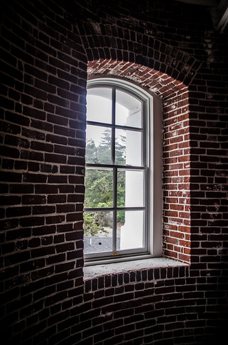 Umpqua Lighthouse Window
