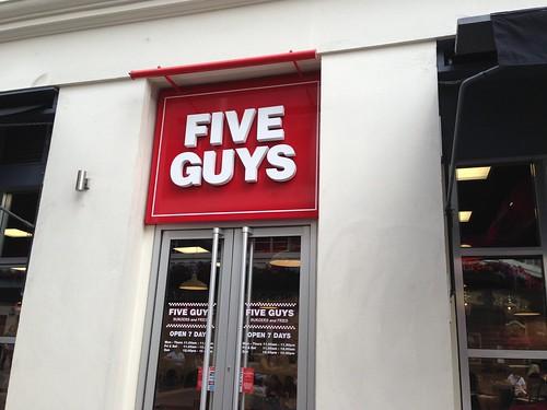 Five Guys, London. Londres