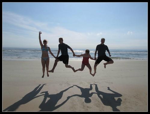 Beach Jump - got the hang of it