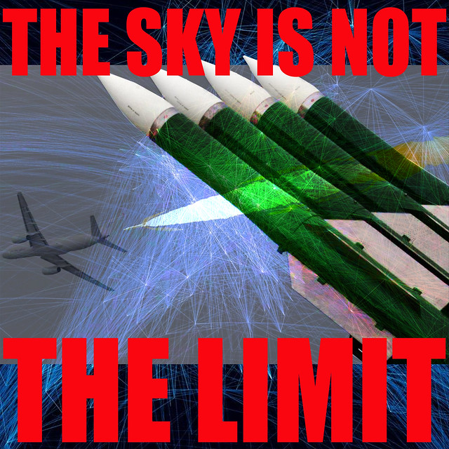 Flight MH17: THE SKY IS NOT THE LIMIT anymore: safety zone of high altitude civil airspace has ceased to exist
