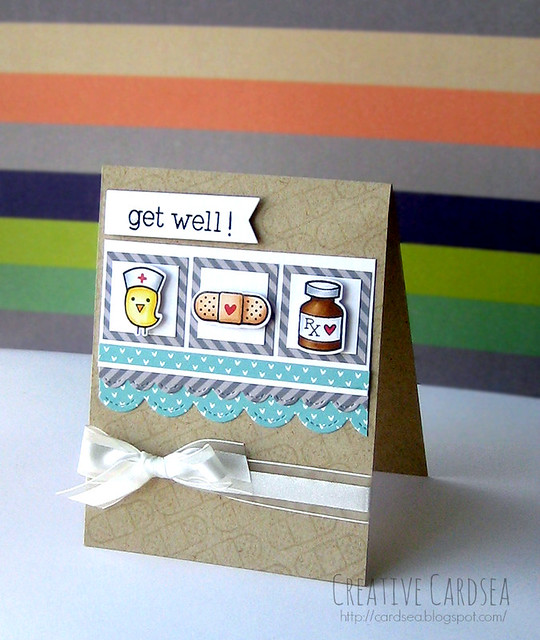 Creative Cardsea- Get Well!