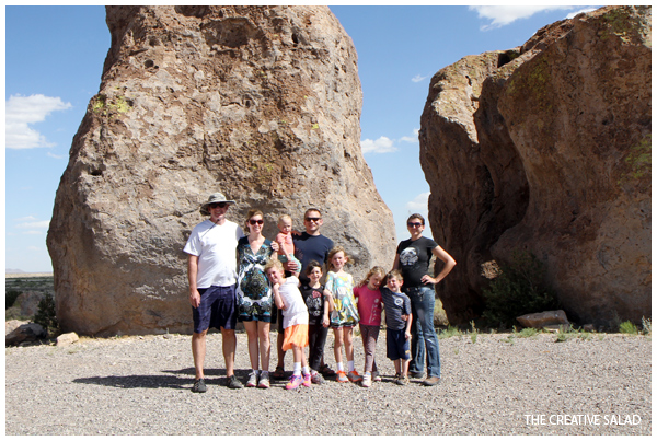 Family at the City of Rocks