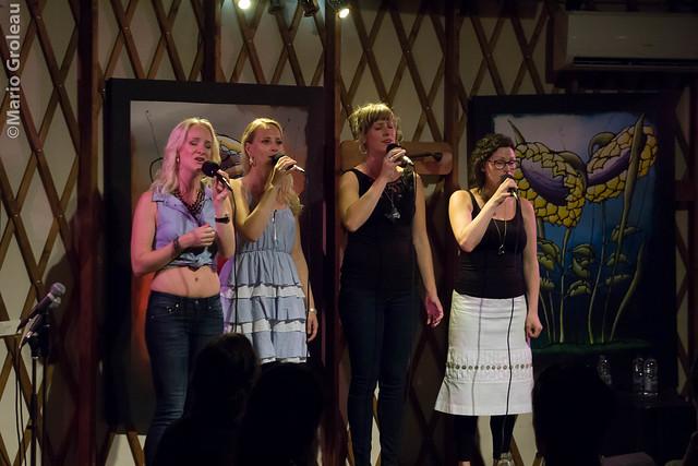 KONGERO (4 chanteuses a capella Suédoises)
