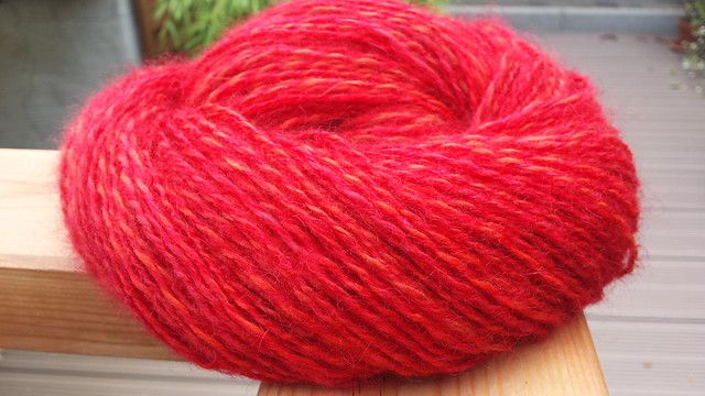 Multipler Merino verzwirnt mit Drops Kid Silk