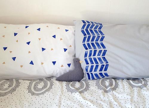 printed pillows