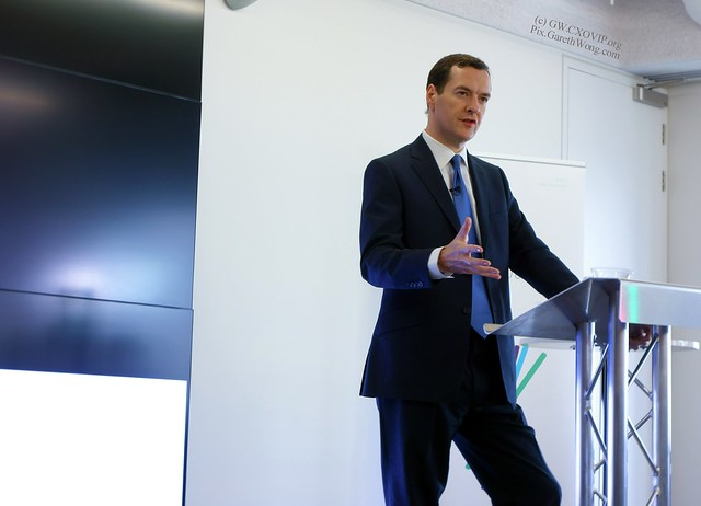 George Osbourne, UK Chancellor at Innovate Finance launch from RAW _DSC1811