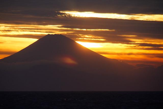 Mt.Fuji from Jyogashima