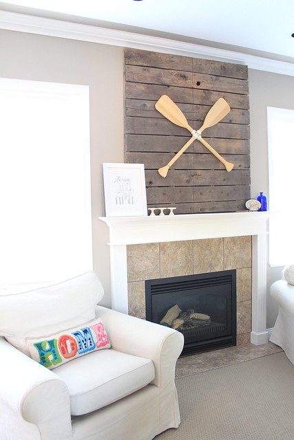DIY Pallet in Living Room