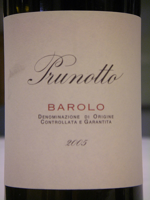 Antinori Prunotto 2005 Barolo