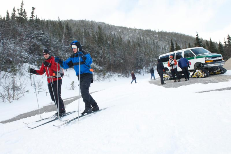 Snow Coach at Great Glen Trails
