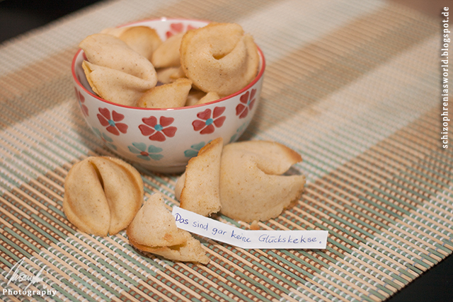 [In fremden Küchen] #3 selbstgemachte Glückskekse