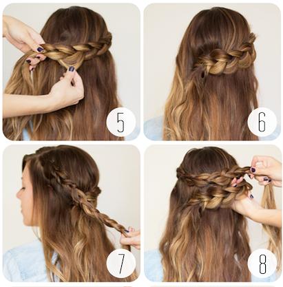 Hướng dẫn các cách tết tóc ĐẸP mà đơn giản 37