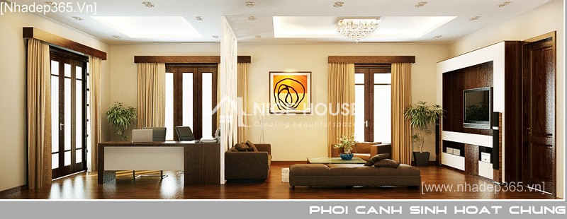 Thiết kế nội thất biệt thự Anh Sơn - Đông Anh_05